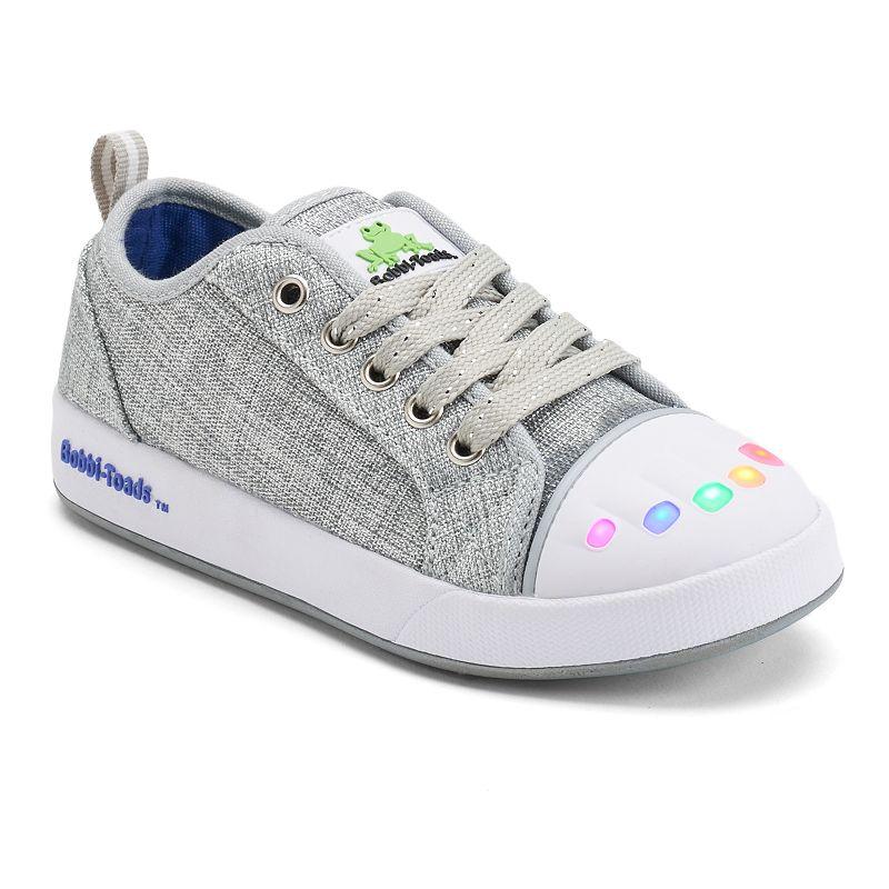 Bobbi-Toads Lightning Girls' Light-Up Sneakers