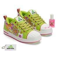 Bobbi-Toads Holly Rae Girls' Paintable Sneakers with Nail Polish