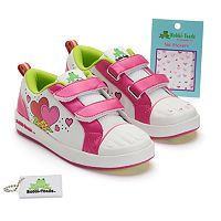 Bobbi-Toads Sophie Girls' Paintable Sneakers with Stickers