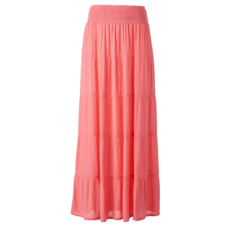 womens black maxi skirt kohl s