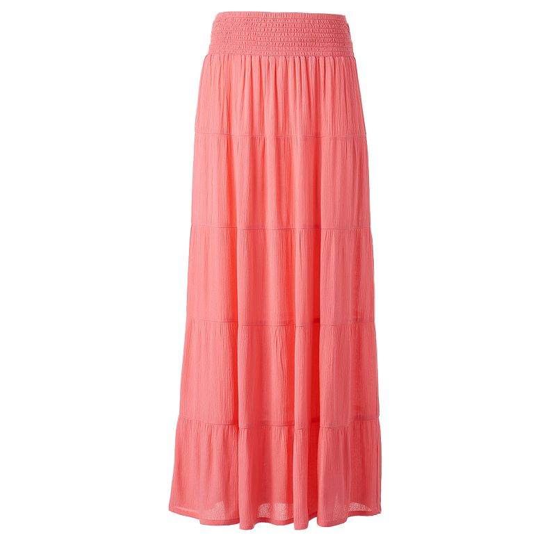 Women's Studio 253 Tiered Maxi Skirt