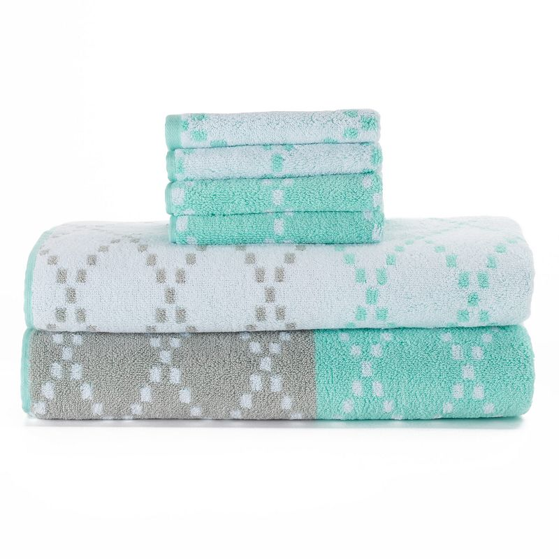 Simple By Design Diamond 6-pack Towels