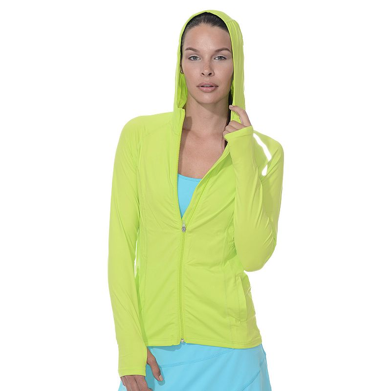 Women's BloqUV Full-Zip Performance Hoodie