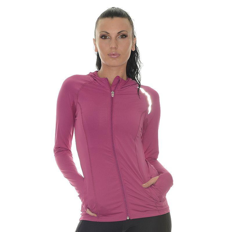 Women's BloqUV Full-Zip Performance Hoodie