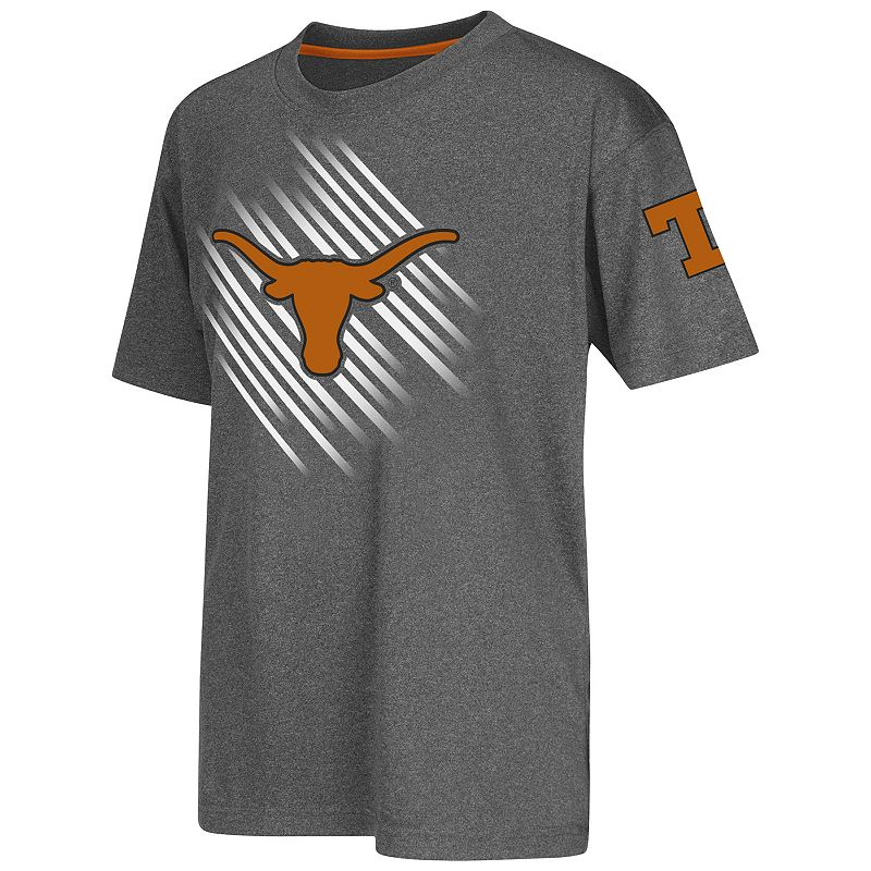 Boys 8-20 Campus Heritage Texas Longhorns Position Synthetic Tee