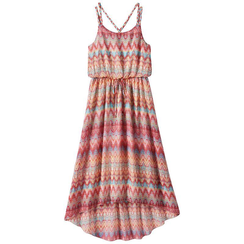 Girls 7-16 Speechless High-Low Maxi Dress