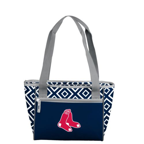 Logo Brand Boston Red Sox 16-Can Diamond Cooler Tote