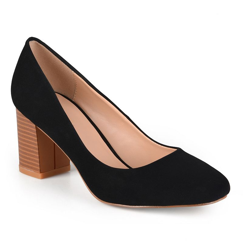Journee Collection Amanda Women's Stacked High Heels