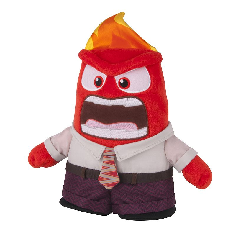 Disney / Pixar Inside Out Talking Anger Plush Doll by Tomy