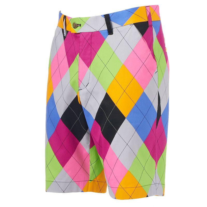 Men's Loudmouth Golf Pargyle Shorts