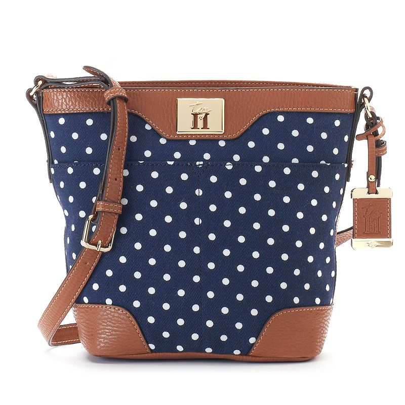 Tig II by Tignanello Avery Polka-Dot Crossbody Bag