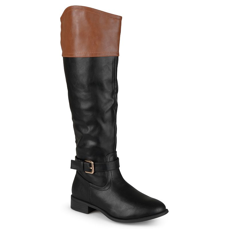 Journee Collection Derby Women's Knee-High Riding Boots