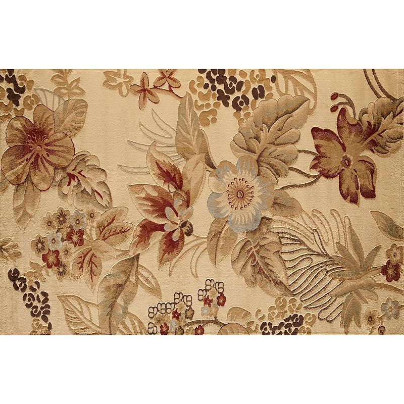 Rugs America Capri Islamorada Floral Rug