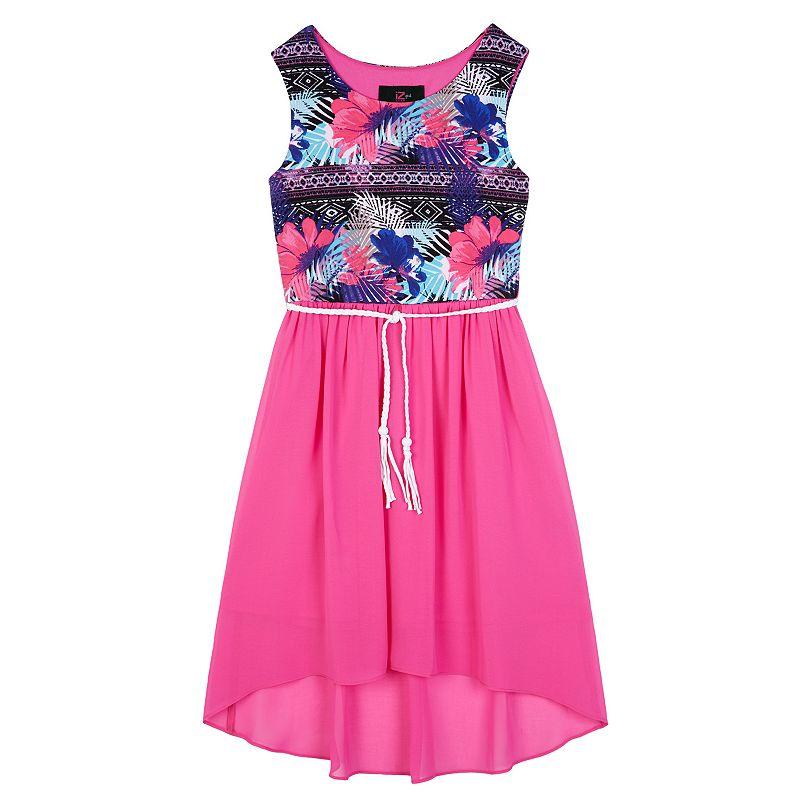 Girls 7-16 IZ Amy Byer Floral High-Low Dress