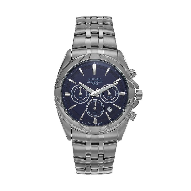 Pulsar Men's Easy Style Stainless Steel Chronograph Watch - PT3683