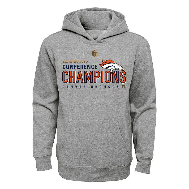 Boys 8-20 Denver Broncos 2015 AFC Champions Locker Room Hoodie
