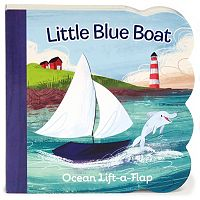 Little Blue Boat Ocean Lift-a-Flap Book