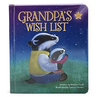 Grandpa's Wish List Board Book by Cottage Door Press