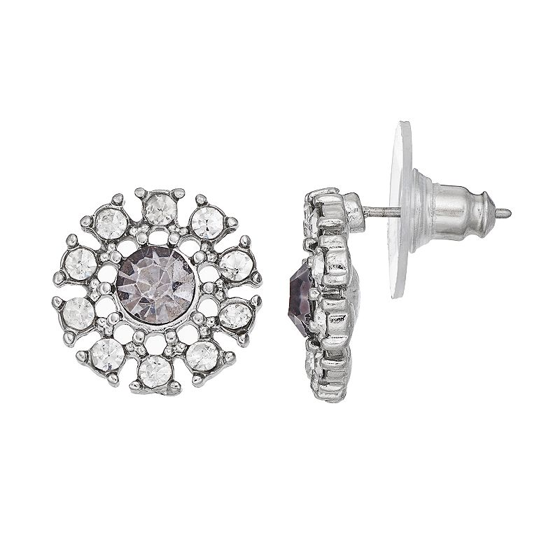 Simply Vera Vera Wang Openwork Disc Drop Earrings