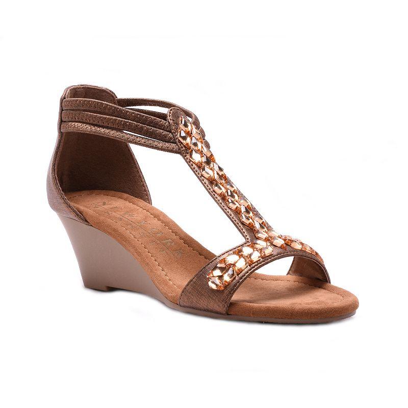 New York Transit Perfection Women's Wedge Sandals