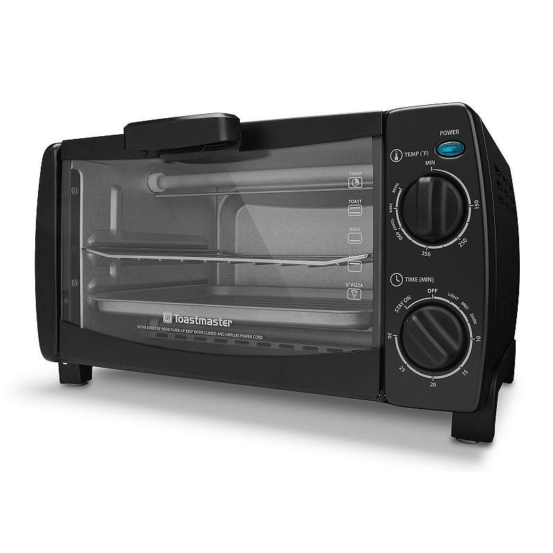 Toastmaster 4-Slice Black Toaster Oven