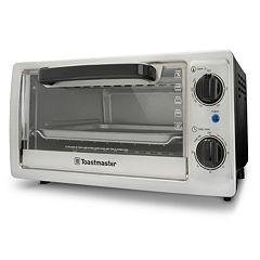 Toastmaster 4-Slice Stainless Steel Toaster Oven