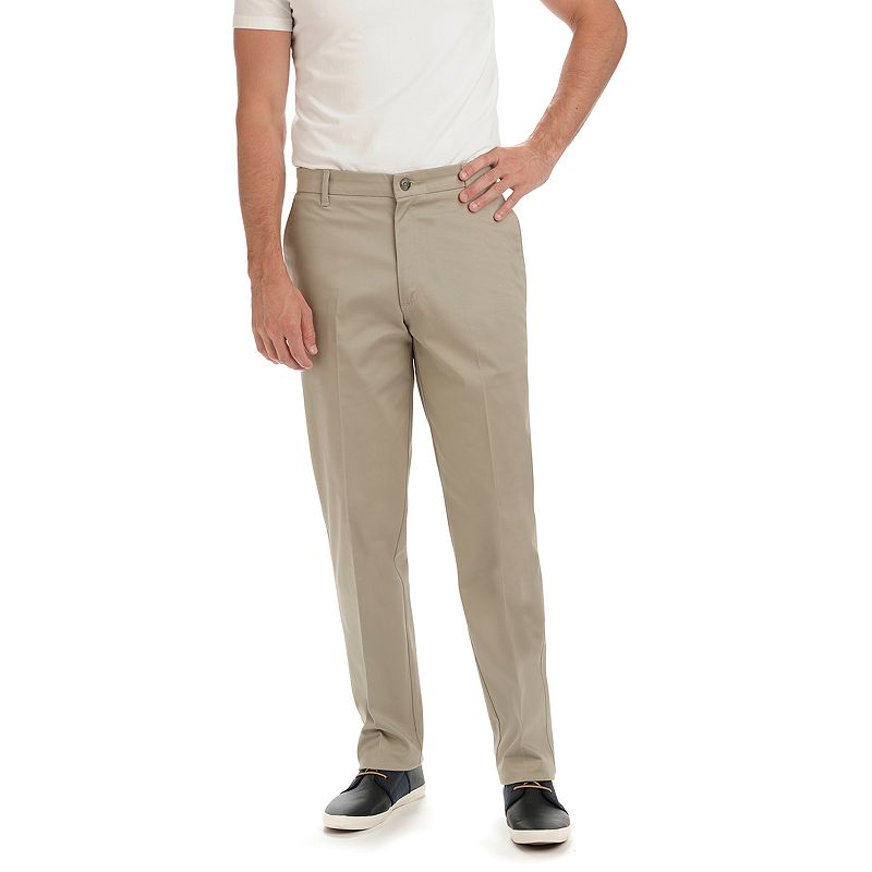 Men's Lee Carefree Straight-Fit Stretch Khaki Pants