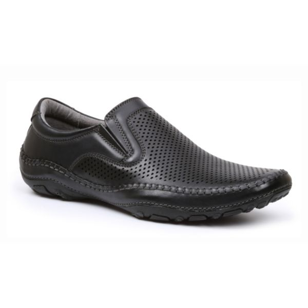 GBX Men's Perforated Slip-On Shoes