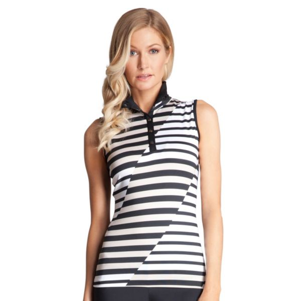 Women's Tail Lady in Red Cici Sleeveless Golf Polo