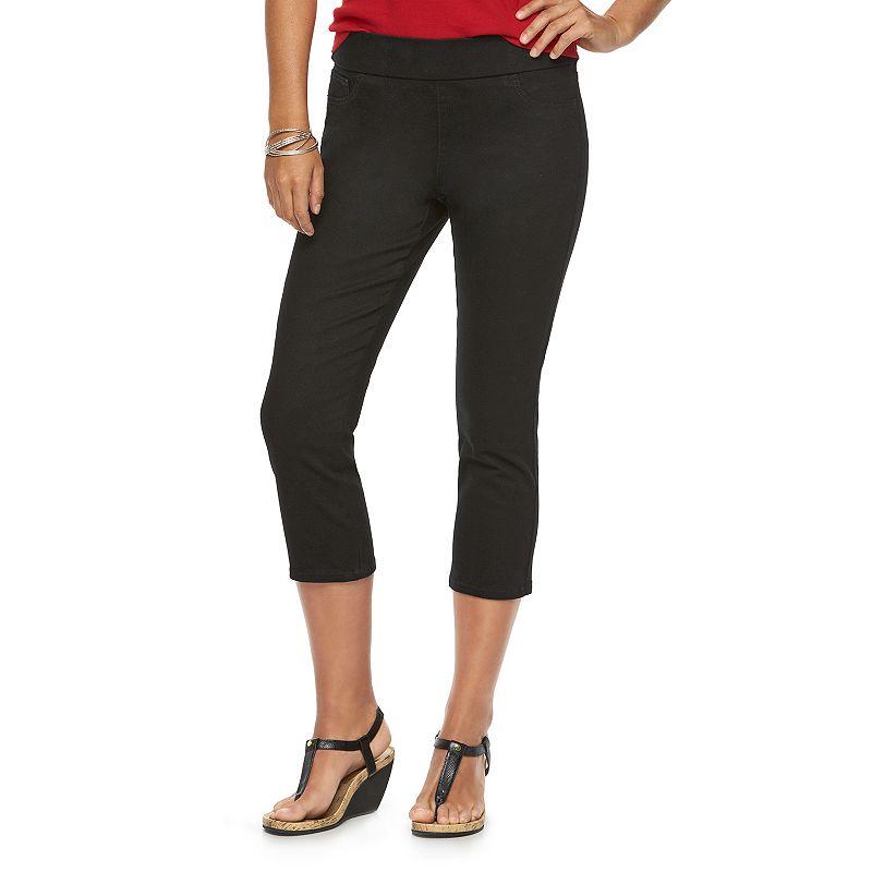 Women's Chaps Modern Fit Capri Jeans