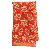 Harvest Leaves Fingertip Towel