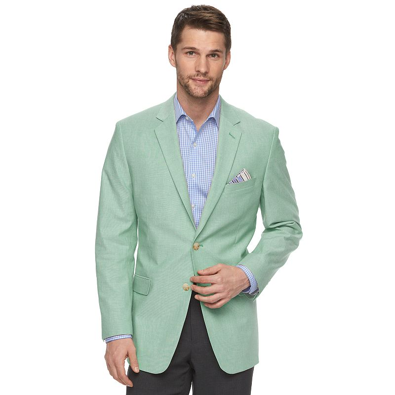 Men's Adolfo Modern-Fit Chambray Sport Coat