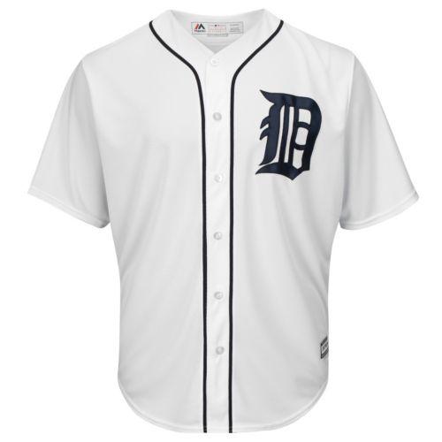 Big & Tall Majestic Detroit Tigers Cool Base Replica Jersey