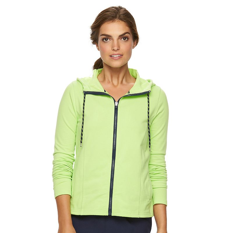 Women's' Chaps SPORT Knit Hooded Jacket