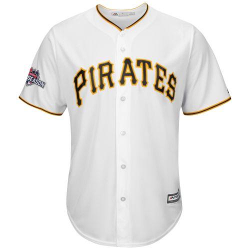 Big & Tall Majestic Pittsburgh Pirates Cool Base Replica Jersey