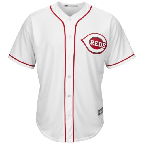 Big & Tall Majestic Cincinnati Reds Cool Base Replica Jersey