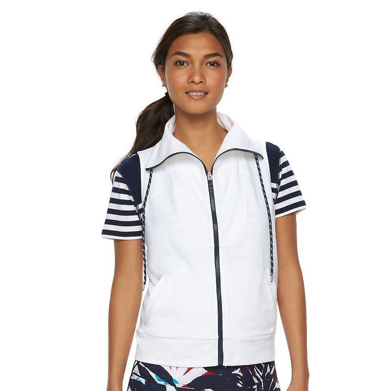 Women's Chaps SPORT Zip-Front Vest