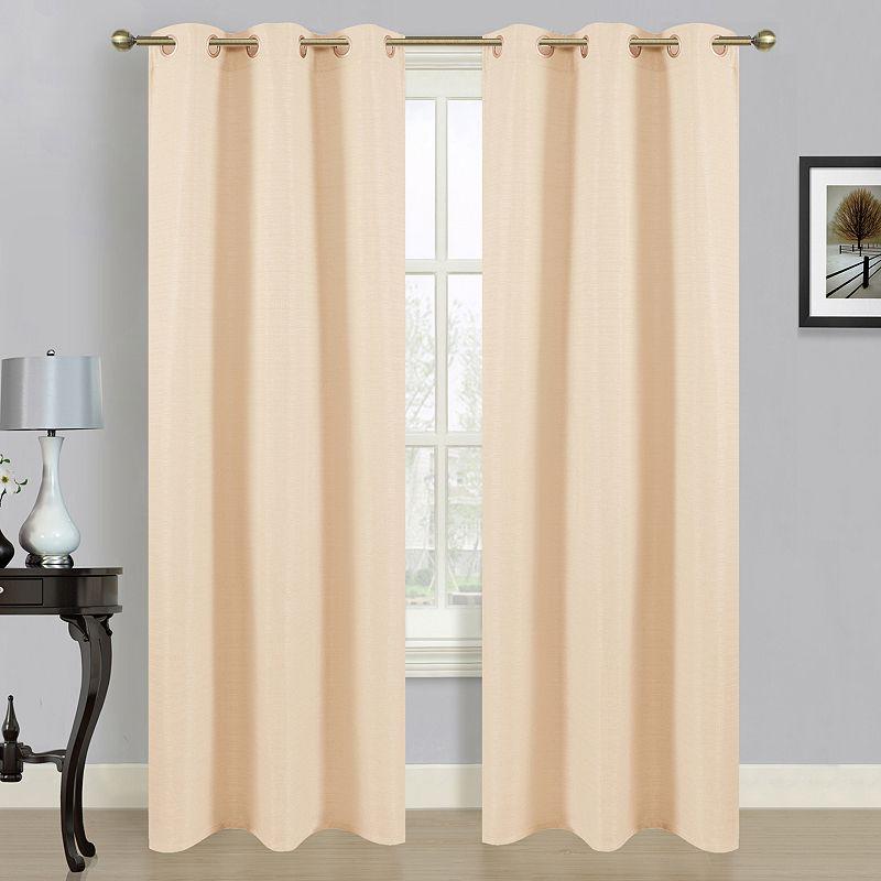 Beige Living Room Curtain