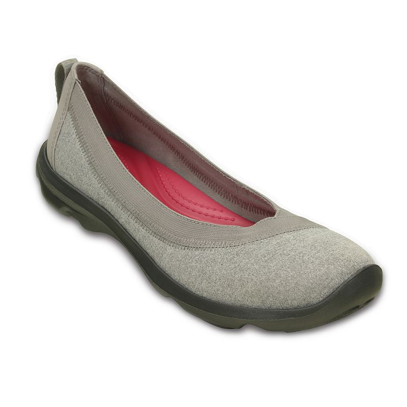 Crocs Busy Day Women's Heathered Flats