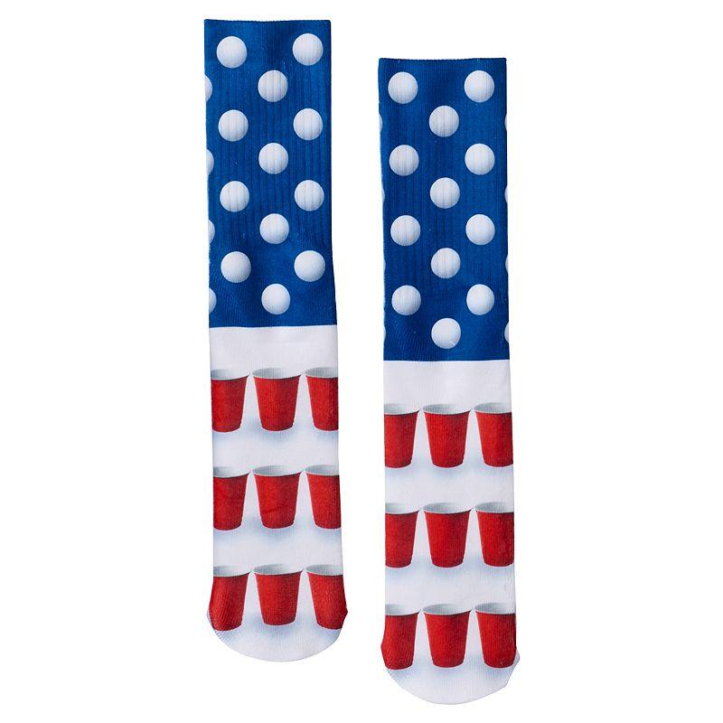 Men's Urban Pipeline® Beer Pong Sublimated Crew Socks