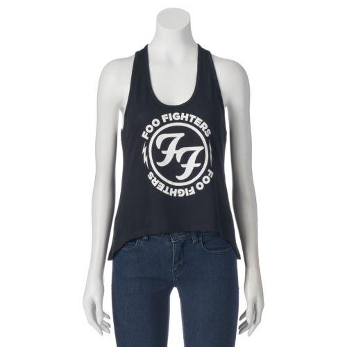 Juniors' Foo Fighters Logo Racerback Tank Top