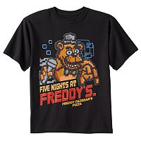Boys 8-20 Five Nights At Freddy's Pixelated Tee