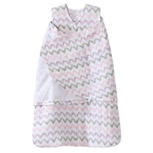 Baby Girl HALO SleepSack Chevron Muslin Swaddle