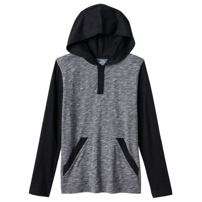 Boys 8-20 Tony Hawk Colorblock Hooded Tee, Boy's, Size: Large, Black