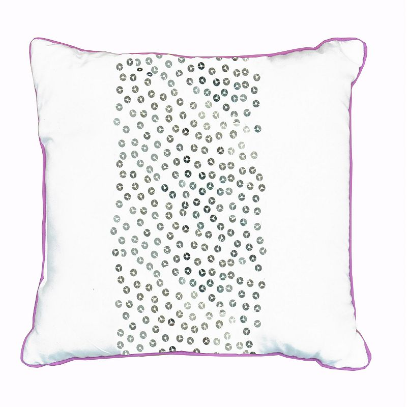 Seventeen Marrakesh Embellished Throw Pillow