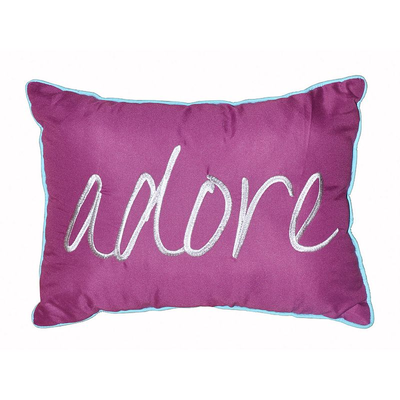 Kohls Purple Throw Pillows : Seventeen Chevron Square Ruched Throw Pillow DealTrend