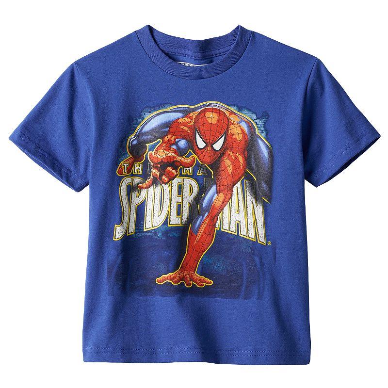 Boys 4-7 Marvel Spider-Man Crawl Graphic Tee