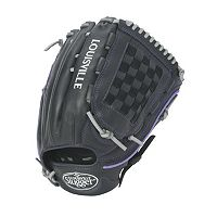 Adult Louisville Slugger 12.75-in. Left Hand Throw Xeno Black Outfield Fastpitch Softball Glove