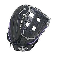 Adult Louisville Slugger 13-in. Left Hand Throw Xeno Black First Base Fastpitch Softball Glove