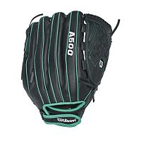 Adult Wilson A500 Siren 12.5-in. Right Hand Throw Fastpitch Softball Glove